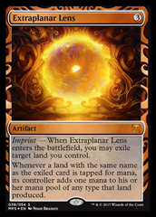 Extraplanar Lens - Foil on Channel Fireball