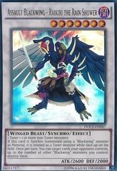 Assault Blackwing - Raikiri the Rain Shower - DOCS-EN047 - Ultra Rare - Unlimited Edition