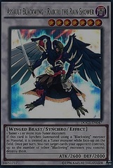 Assault Blackwing - Raikiri the Rain Shower - DOCS-EN047 - Ultimate Rare - Unlimited Edition