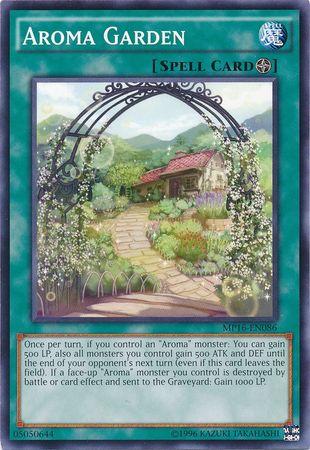 Aroma Garden - MP16-EN086 - Common - Unlimited Edition