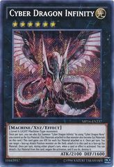 Cyber Dragon Infinity - MP16-EN237 - Secret Rare - Unlimited Edition on Channel Fireball