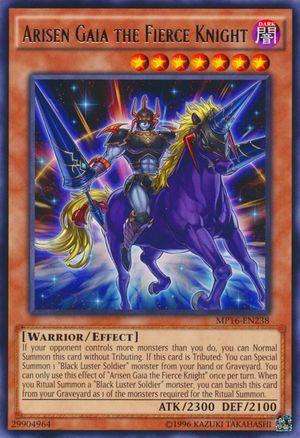 Arisen Gaia the Fierce Knight - MP16-EN238 - Rare - Unlimited Edition