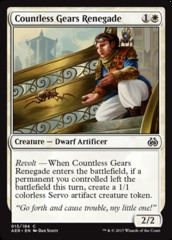 Countless Gears Renegade - Foil
