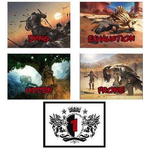 5E Rpg - Combat Cards