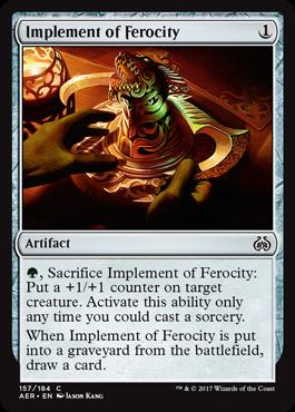 Implement of Ferocity - Foil