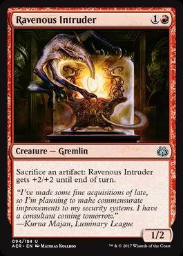 Ravenous Intruder