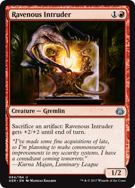 Ravenous Intruder - Foil