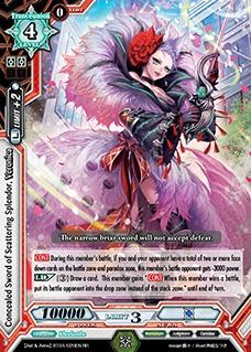 Concealed Sword of Scattering Splendor, Veronica - BT04/026EN - RR
