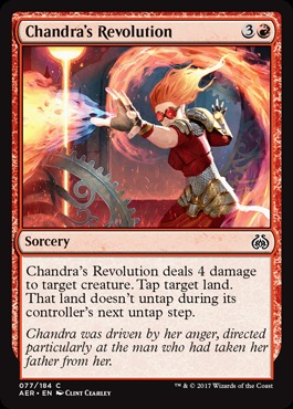 Chandras Revolution - Foil