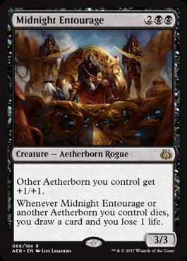 Midnight Entourage - Foil