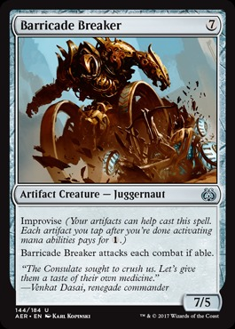 Barricade Breaker - Foil