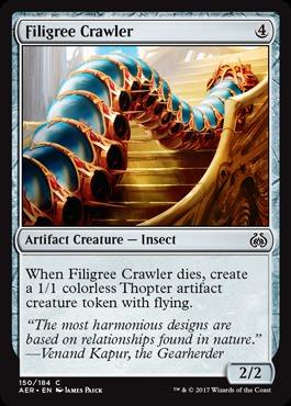 Filigree Crawler - Foil