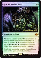 Gonti's Aether Heart - Aether Revolt Prerelease Promo