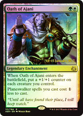Oath of Ajani (Aether Revolt Prerelease Foil)