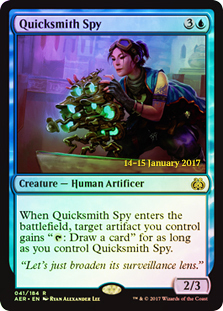 Quicksmith Spy - Foil - Prerelease Promo