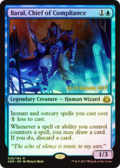 Baral, Chief of Compliance - Foil (Prerelease)