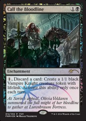 Call the Bloodline - Dec 2016 Foil