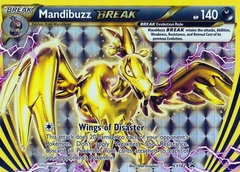 Mandibuzz Break - XY182 - Arcanine Break Evolution Box Promo