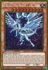 Deep-Eyes White Dragon - MVP1-ENG05 - Gold Rare - 1st Edition