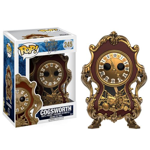 Pop! Disney 244: Beauty And The Beast (2017) - Cogsworth