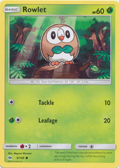 Rowlet - 9/149 - Common