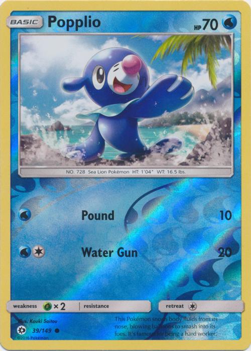 Psyduck 28//149 Sun /& Moon Reverse Holo Mint Pokemon Card