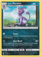 Alolan Persian - 79/149 - Uncommon