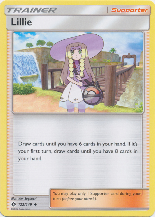 Lillie - 122/149 - Uncommon