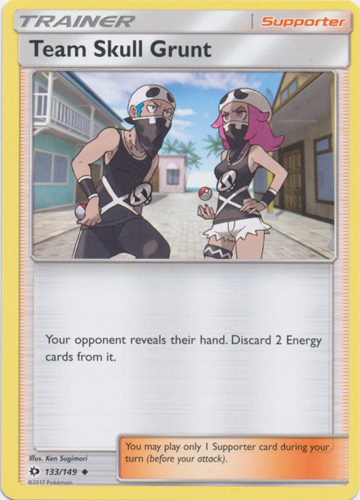 Team Skull Grunt - 133/149 - Uncommon