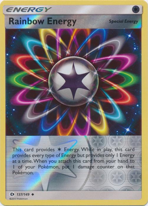 REVERSE HOLO 117//149 POKEMON SUN /& MOON CARD ENERGY SWITCH