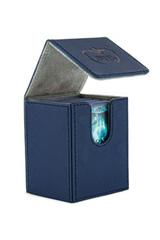 Ultimate Guard - Flip Deck Case 100+ Leatherette Standard Size Blue