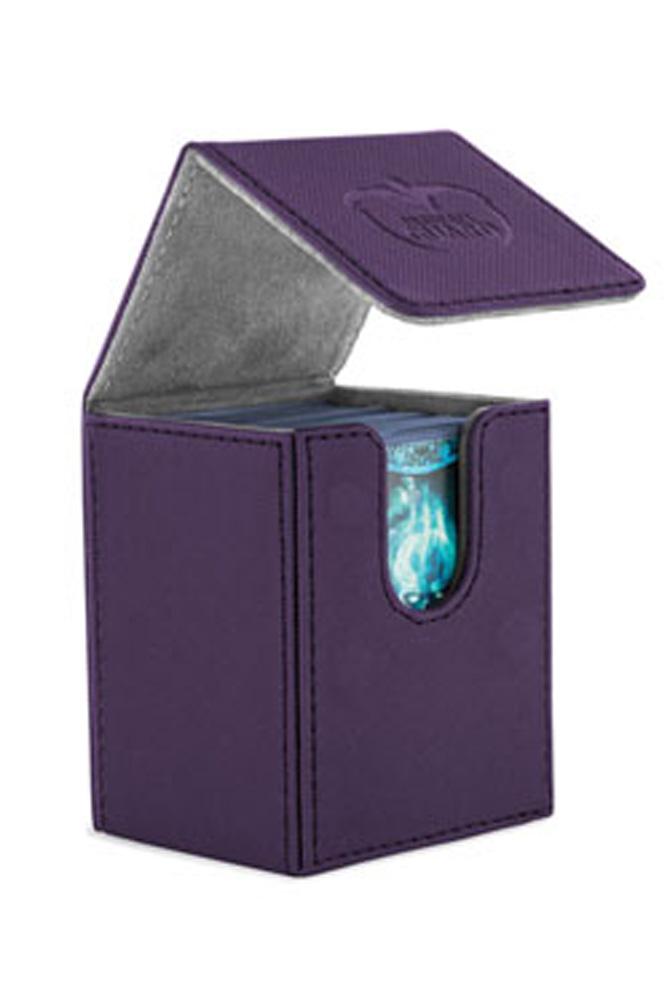 Ultimate Guard - Flip Deck Case 100+ Leatherette Standard Size Purple