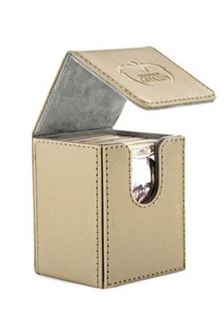 Ultimate Guard - Flip Deck Case 100+ Leatherette Standard Size Sand