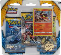 Sun & Moon - Burning Shadows Pack Blister with Litten Promo