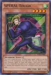 SPYRAL Tough - RATE-EN087 - Rare - 1st Edition
