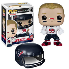 Football Series - 34 - J.J. Watt (2015 Road Uniform)