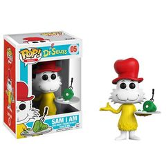 Funko POP -  Books 05: Dr. Seuss - Sam I Am