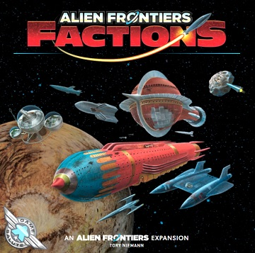 Alien Frontiers Factions 2Nd Edition