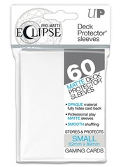 Ultra Pro Eclipse Small White Matte Sleeves 60Ct