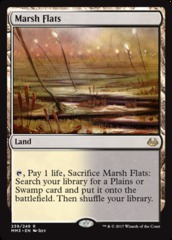 Marsh Flats - Foil on Channel Fireball