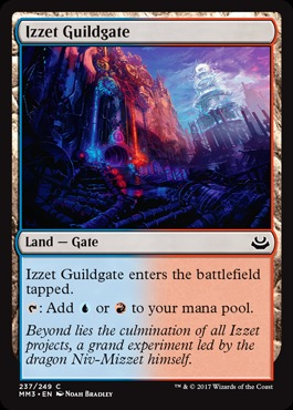 Izzet Guildgate - Foil