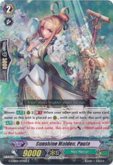Sunshine Maiden, Paula - G-CHB01/037EN - R on Channel Fireball