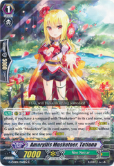Amaryllis Musketeer, Tatiana - G-CHB01/040EN - R on Channel Fireball