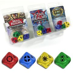 Legion Supplies - Star Realms Dice: 4 Count D10 Set
