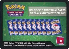Sun & Moon - Booster Pack Code Card