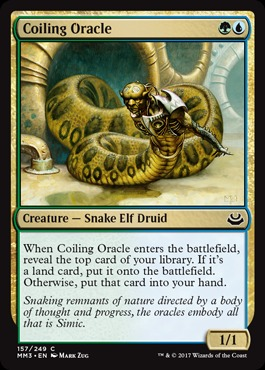 Coiling Oracle