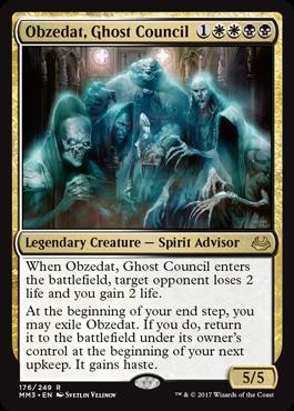 Obzedat, Ghost Council
