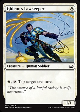 Gideons Lawkeeper - Foil
