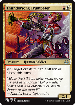 Thundersong Trumpeter - Foil