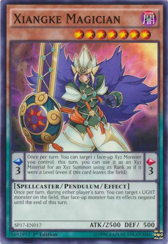 Xiangke Magician - SP17-EN017 - Common - 1st Edition